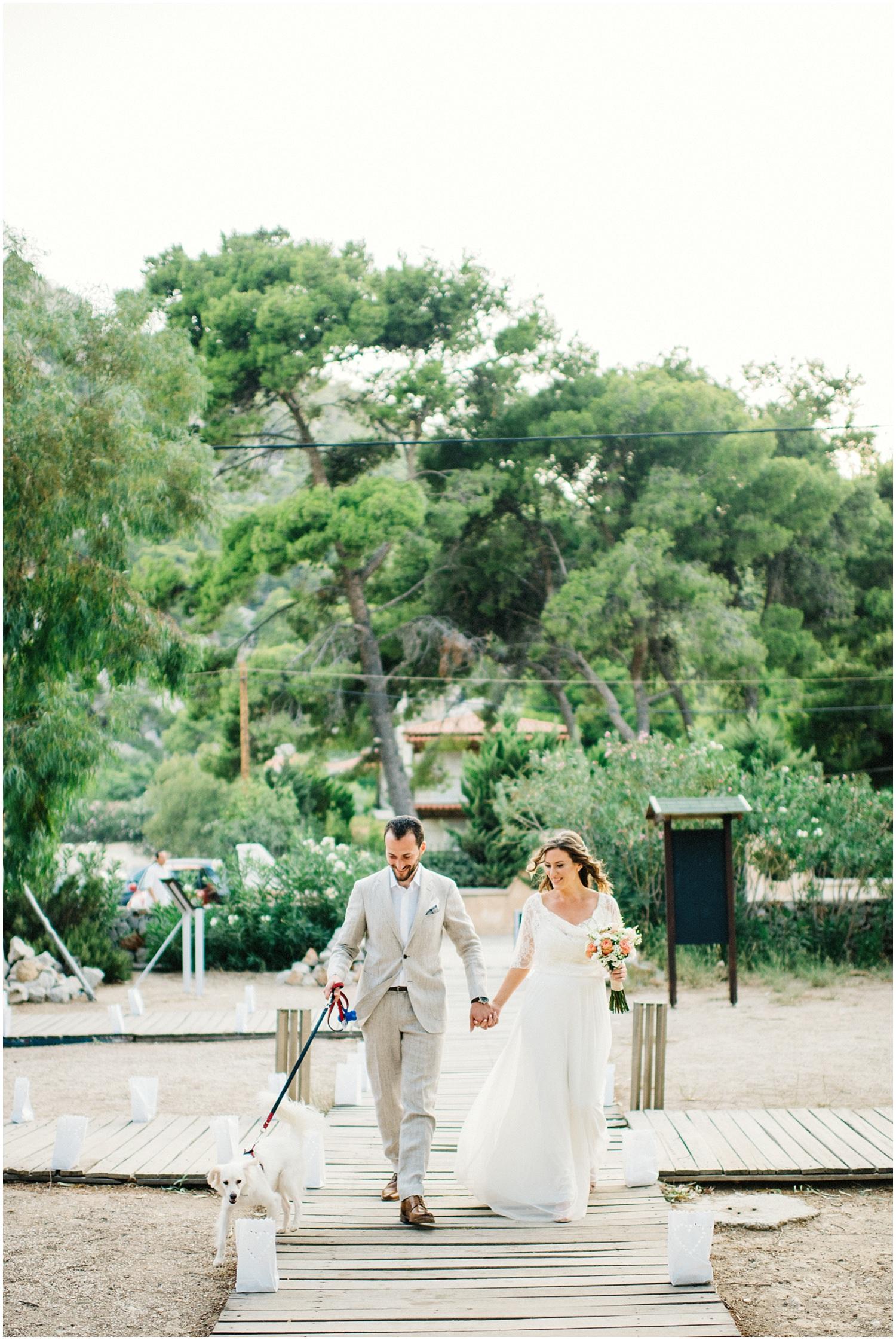 Wedding By The Sea Greece 47
