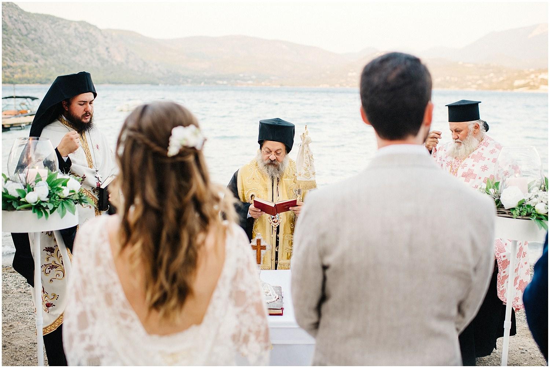 Wedding By The Sea Greece 67