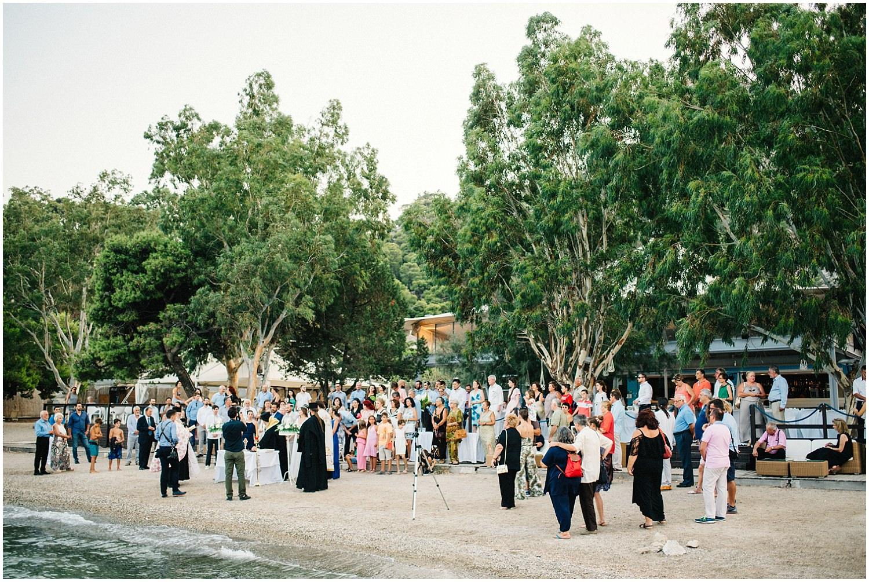 Wedding By The Sea Greece 71