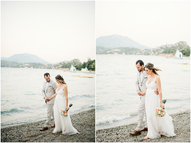 Wedding By The Sea Greece 76