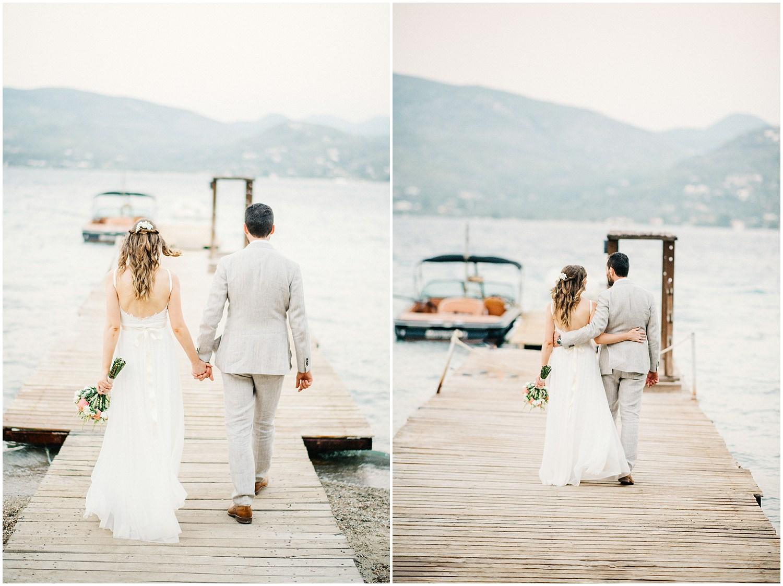 Wedding By The Sea Greece 83